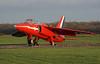 XR540 Kemble 14-12-17 (IanL2) Tags: folland gnat kemble airport raf redarrows trainer aircraft xr540 xp502 cotswolds