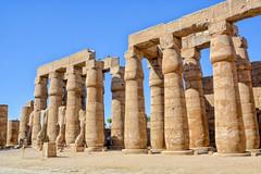 Luxor Pati (Porschista) Tags: luxor egipte temple templo columnas patio pati