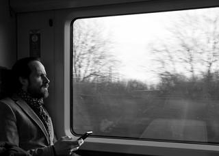 voyager à travers la fenêtre