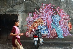 Sassoon Dock Art Project (NovemberAlex) Tags: bombay colour india streetart sassoondock urban