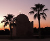 1001 night (Shahrazad26) Tags: sunset coucherdusoleil zonsondergang koubba palmtrees palmbomen palmiers marrakech marokko maroc morocco