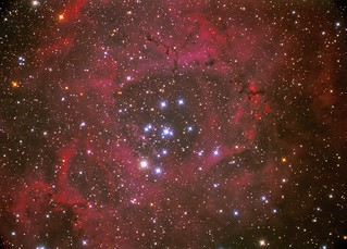 NGC-2244 The Rosette Nebula