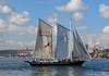 South Passage (PhillMono) Tags: history heritage ship boat vessel south passage gaff rig schooner sail tall reflection sydney harbour nikon dslr d7100