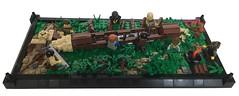 CCC XV: Dugout (LettuceBrick) Tags: ccc cccxv castle dugout canoe tree