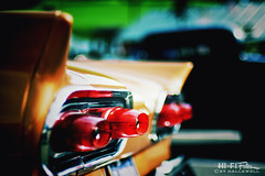 Fairlane Fins (Hi-Fi Fotos) Tags: 1958 ford fairlane fin tail light extreme styling excess midcentury vintage american classiccar gold nikkor 50mm 14 nikon d7200 dx hififotos hallewell