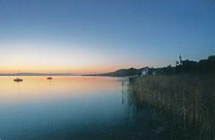 Lake Constance (Liz Pidgeon) Tags: lakeconstance lake germany postcard postcrossing sunset