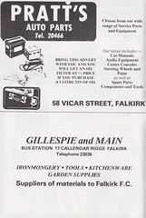 Falkirk vs Clydebank - 1980 - Page 4 (The Sky Strikers) Tags: falkirk clydebank scottish league division one brockville bairns view official programme 15p