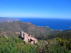 San Pere de Rodes, Costa-Brava (ow54) Tags: costabrava kloster abbey spanien spain coast küste mittelmeer mediterranean meer