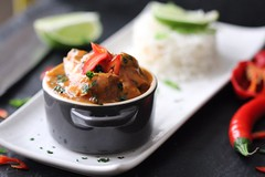 Caribbean Curry 🌶⁉️ MADE IN DUBLIN IRELAND  😋 (TwoPenceMedia) Tags: manorfarm yummy twopencemedia foodphotography coconut lime coriander food cooking hot chilly spicy caribbean chicken rice curry