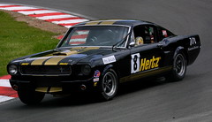 Jonathan Bloohm - Hertz Racing - Shelby Mustang GT350 a (Boris1964) Tags: 2005heritagegrandtourers brandshatch