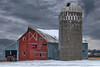 Maybe One More (henryhintermeister) Tags: barns minnesota oldbarns clouds farming countryliving country sunsets storms sunrises pastures nostalgia skies outdoors seasons field hay silos dairybarns building architecture outdoor winter serene grass landscape plant