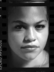 Tina Beautiful Portrait Photo Shoot Philadelphia Studio Ilford HP5 Plus 35mm B&W Contact Sheet Proof Print July 1995 IMG_0053 (photographer695) Tags: tina topless photo shoot philadelphia studio ilford hp5 plus 35mm bw contact sheet proof print july 1995 portrait