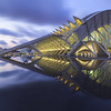 City of Arts and Sciences. (dasanes77) Tags: canoneos6d canonef1635mmf4lisusm tripod landscape cloudscape architecture longexposure bluehour reflections shadows lines water clouds sunset lights valencia cityofartandsciences