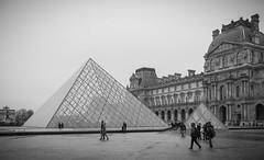 The Louvre Pyramid, Paris (Sajivrochergurung) Tags: