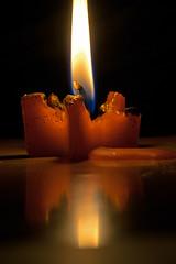 Breaking the darkness (explored 21/12/17) (Gianna Fou.) Tags: 7dwf macro light candle fire sundaylights christmasspirit