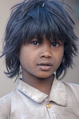 Maikal hills - Chhattisgarh - India (wietsej) Tags: maikal hills chhattisgarh india sony a700 sal70200g 70200 tribal boy child rural village portrait wietse jongsma bhoramdeo