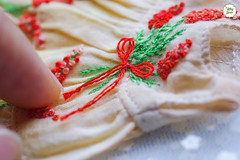 Handmade Embroidered Dresses (Ylang Garden) Tags: pukifee latiyellow embroidery embroidered