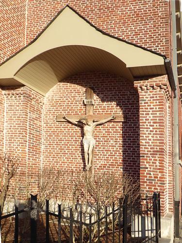 Leers-Nord Calvaire de l' église Saint-Vaast