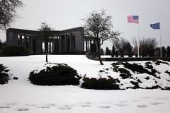 Mardasson memorial, Bastogne (Riverman___) Tags: belgium ardennes hiking battle bulge noville recogne foy war 101st airborne