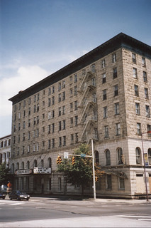 Wilkes-Barre  Pennsylvania - Hotel Sterling - As it Looked in 2002 - Demolished - 2013