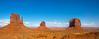 the mittens +  merricks butte - Monument Valley, Arizona, USA (Russell Scott Images) Tags: leftmitten westmittenbutte monumentvalley arizona usa rightmitten eastmittenbutte themittens merricksbutte russellscottimages
