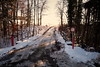 Vers la lumière... (8pl) Tags: pont panneau signalisation 35t soleil luminosité rouge panneaudinterdiction campagne vaud campagnevaudoise suisse