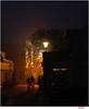 Borkum by evening (Lutz Koch) Tags: borkum nordsee licht baustelle constructionsite radfahrer nebensaison winter wilhelmbakkerstrasse niedersachsen lowersaxony elkaypics lutzkoch ostfriesland frisia inselborkum