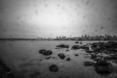 January 7, 2018. (Amanda Catching) Tags: today longexposure light city skyline vancouver ocean
