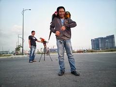 The parrots of Thủ Thiêm. Another Saigon anomaly. (genochio) Tags: saigon vietnam hcmc