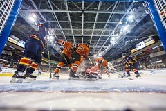 "Kansas City Mavericks vs. Colorado Eagles, December 16, 2017, Silverstein Eye Centers Arena, Independence, Missouri.  Photo: © John Howe / Howe Creative Photography, all rights reserved 2017. • <a style=""font-size:0.8em;"" href=""http://www.flickr.com/photos/134016632@N02/27360159439/"" target=""_blank"">View on Flickr</a>"