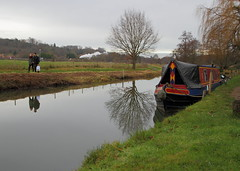 Christmas Gifts 2017 (keithwilde152) Tags: christmas gifts river wey st catherines guildford water people longboat landscape countryside steam locomotives outdoor winter
