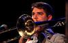 Timothé Lemaire (tb) Jazz Station Big Band, Centre culturel d'Ans-Alleur, vendredi 03/11/2017. (claude lina) Tags: claudelina belgium belgique belgïe musique musicien concert jazz ans alleur centrecultureldalleur bigband jazzstationbigband instruments trombone timothélemaire