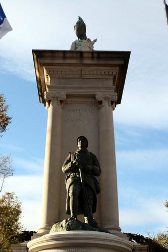 FR10 9470 WWI Monument. Narbonne, Aude, Languedoc