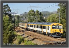 CP 592.032 + 592.030 · 20814 · Terronhas · 14.07.2017 (Joao Joaquim) Tags: cp 592 camello automotora utd diesel douro porto passageiros comboio train regional valongo