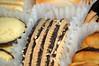 Cookie Close Up. (dccradio) Tags: lumberton nc northcarolina robesoncounty indoors inside food eat snack dessert cookie classiccollection pepperidgefarm geneva chocolate crunchypecans chessmen buttercookie pirouette crispycurls bordeaux sweet crispy milano goldencookie lisbon dippedchocolate lido swirls brussells laceythin orleans delicate thin desserts treats sweets cookies box
