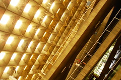 estalactites (Vitor Nisida) Tags: sãopaulo sp sampa fau fauusp vilanovaartigas artigas arquitetura architecture archshot brutalismo usp caramelo sony cybershot