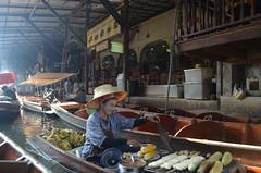 Grilling Station (marlo soneja somido) Tags: market buy sell floatingmarket bangkok thailand boat travel explore