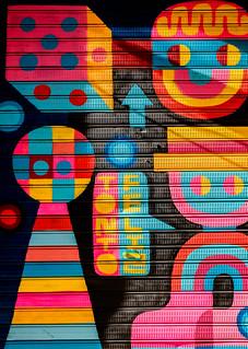 Colourful Shop Shutter - Valencia) ( Fujifilm X70 28mm f2.8 Compact) (1 of 1)