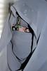 Visions in Grey Part 3: The Shadow (Fia by Marv) Tags: niqab woman eyes verhüllt veil veiled verschleiert vermummt augen oriental tücher schleier masked maskiert frau portrait sari scarf vividstriking kopfschmuck hijab chiffon schal