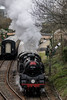 Standards Santa Special (Ben_Broomfield) Tags: harmans cross swanagerailway steam smoke swanage standardtank standard ivatt 4mt 80146 80104 41312 santa special december d300