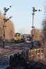 Double Pegged (SydPix) Tags: 66549 class66 freightliner welton semaphores signals freight coal diesel locomotive railways trains sydyoung sydpix