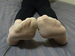 Nylon Socks (sockstargirl) Tags: feet femalefeet footfetish sexy socks sockfetish smelly sweaty sexyfeet sexysocks soles stinky smellysocks nylons nylonsocks toes