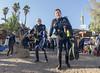 15dec09a (KnyazevDA) Tags: disability diver diving disabled handicapped underwater redsea hanukkah hanukah menorah lights candles israel eilat etgarim cmas amputee paraplegia paraplegic