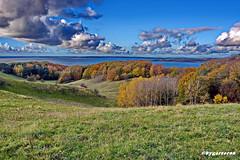 Landschaftspanorama (garzer06) Tags: mönchgut deutschland wolken herbst landschaftsbild hügel mecklenburgvorpommern landschaftsfoto landschaftspanorama inselrügen vorpommernrügen insel vorpommern landscapephotography rügen landschaftsfotografie
