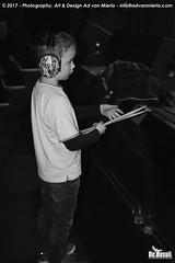 2017 Bosuil-Het publiek bij Joost de Lange en Band Of Friends 13-ZW
