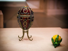 Rosebud Easter Egg (Svetla (ribonka 78)) Tags: travel flickrtravelaward stpetersburg museum masterpiece faberge russia