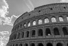 Colosseum (Endangered71) Tags: colosseum blackandwhite rome italy amphitheater