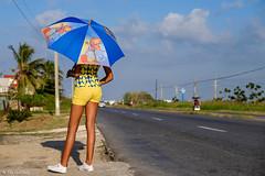 Waiting for her ride (oeyvind) Tags: playabaracoa artemisa cuba cub