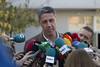 García Albiol en la jornada electoral del 21D