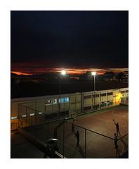 (giovdim) Tags: giovis street night greece city basketball urban sunset theseaatthebackground lights kids playing school nightshot classroom